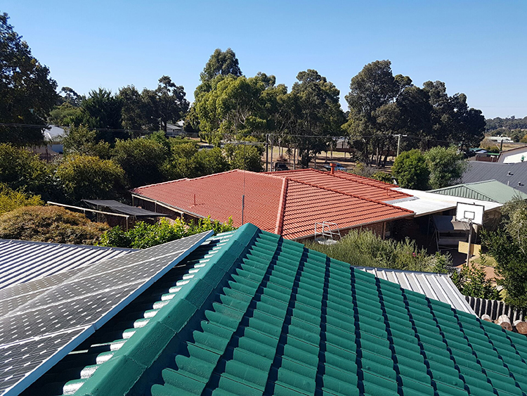 Green Roof Coating by ROOFWEST Roof Restoration Bunbury